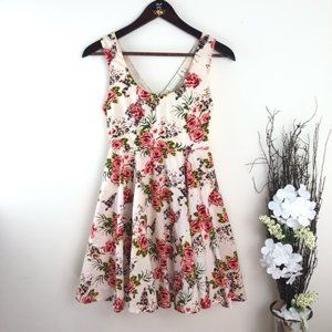 Urban Outfitters Dress Roses Floral sundress